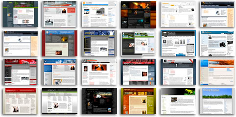 Servicio de Maquetación Joomla: Partiendo de un diseño en photoshop o corel en alta resolución convertimos el diseño de su proyecto en una página web autogestionable con Joomla