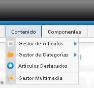 Editando elementos de menu - Joomla 1.6